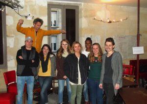 Soirée d'intégration des volontaires au bar Zig Zag - 22.02.17