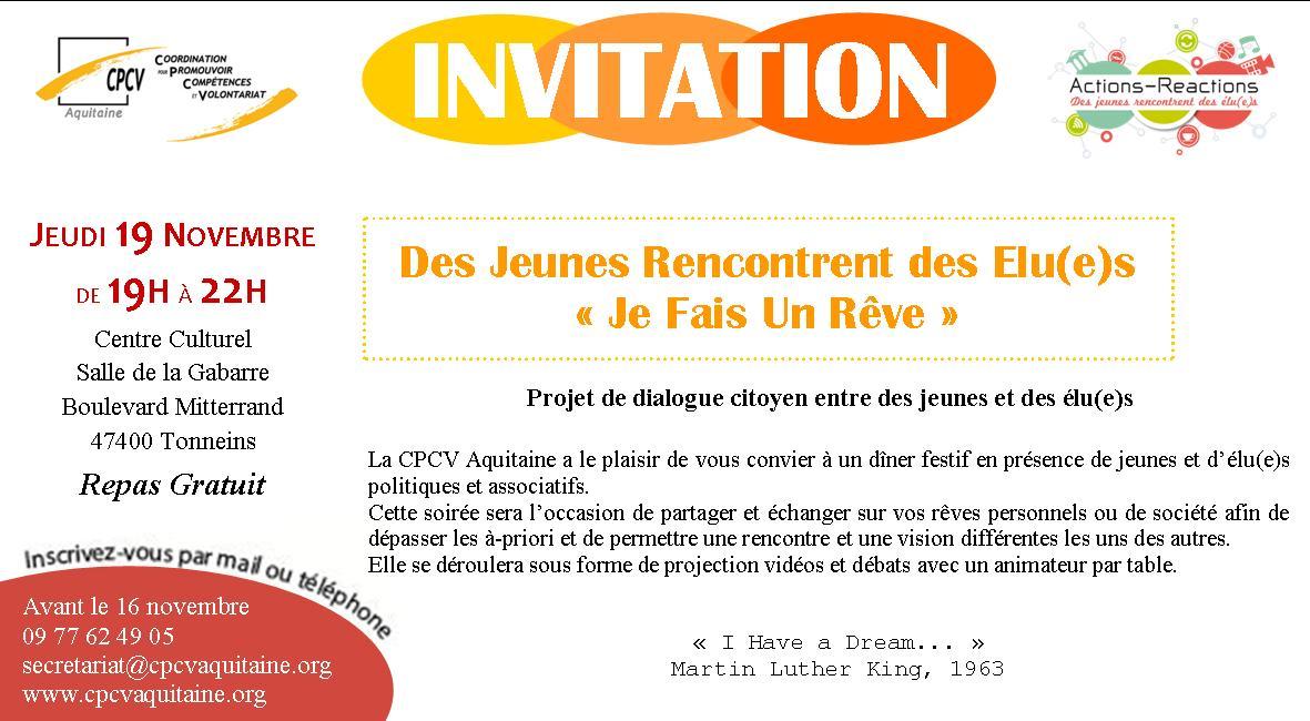Invitation JFUR 19 novembre