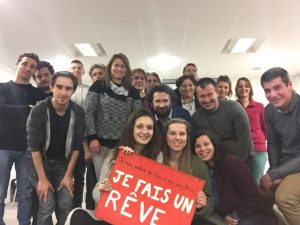 """""""Je fais un rêve"""" à Montmoreau, dans les locaux de la Communauté de Commune"""
